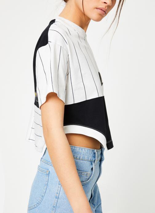 Vêtements Nike W Nike Sportwear Nike Sportwear Top Short-Sleeve Blanc vue détail/paire