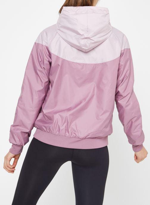 Ropa Nike W Nike Sportwear Wr Jacket Rosa vista del modelo