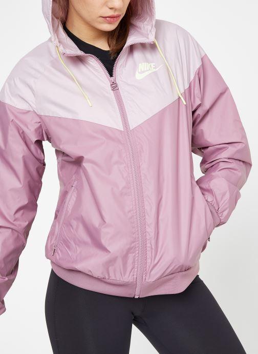 Ropa Nike W Nike Sportwear Wr Jacket Rosa vista de detalle / par