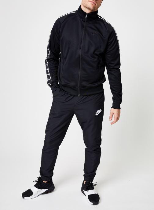 Tøj Nike M Nike Sportwear Hbr Jacket Pk Stmt Sort se forneden