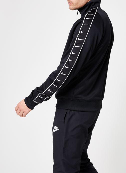 Tøj Nike M Nike Sportwear Hbr Jacket Pk Stmt Sort Se fra højre