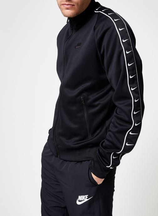 Tøj Nike M Nike Sportwear Hbr Jacket Pk Stmt Sort detaljeret billede af skoene