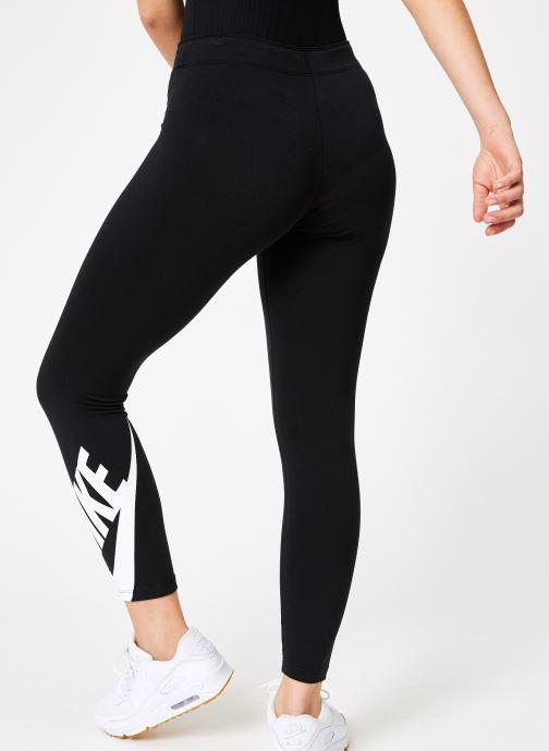 Vêtements Nike W Nike Sportwear Legasee Leggings 7/8 Futura Noir vue portées chaussures