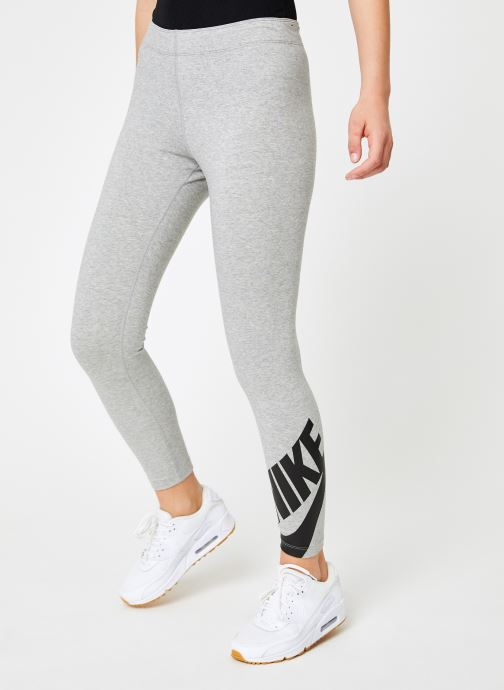 Ropa Nike W Nike Sportwear Legasee Leggings 7/8 Futura Gris vista de detalle / par