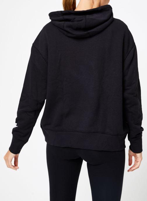 Kleding Nike W Nike Sportwear Air Hoodie Po Zwart model