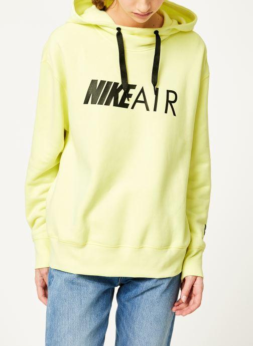 Kleding Nike W Nike Sportwear Air Hoodie Po Geel rechts
