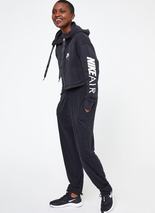 Ropa Nike W Nike Sportwear Air Hoodie Full Zip Flc Negro vista de abajo