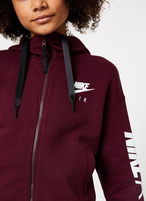 Vêtements Nike W Nike Sportwear Air Hoodie Full Zip Flc Marron vue face