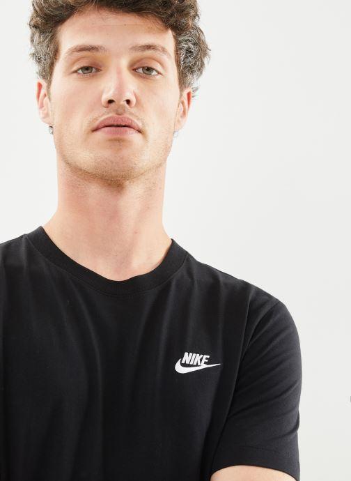 Kleding Nike M Nike Sportwear Club Tee Zwart voorkant