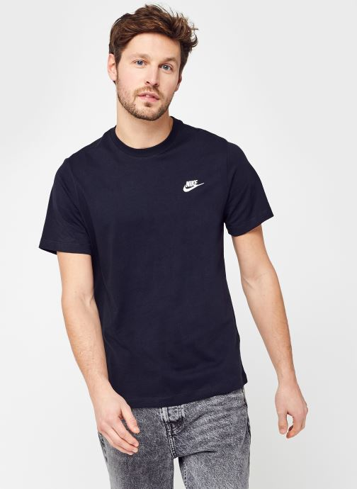 Kleding Nike M Nike Sportwear Club Tee Zwart rechts