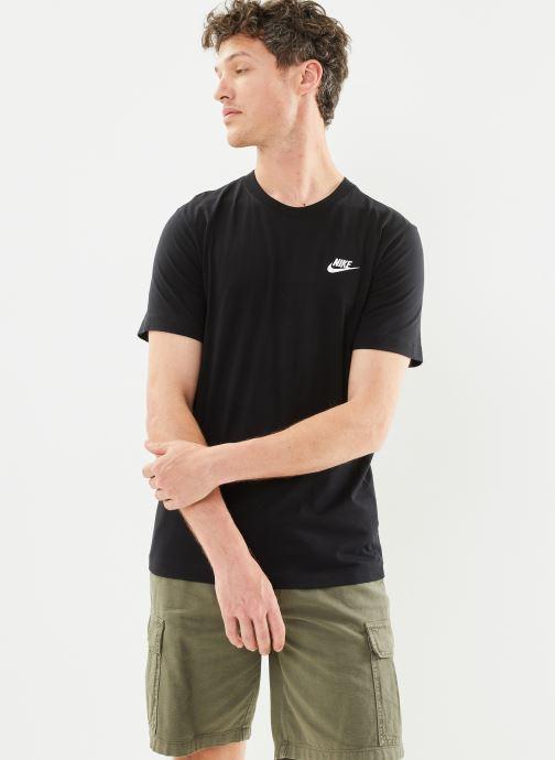 Kleding Nike M Nike Sportwear Club Tee Zwart detail