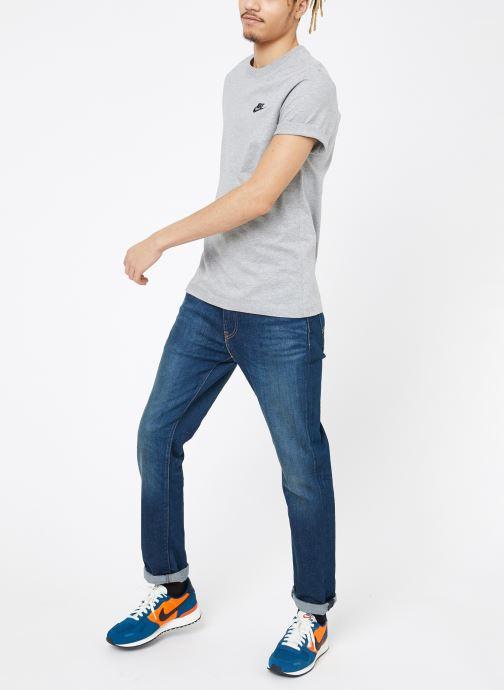 Vêtements Nike M Nike Sportwear Club Tee Gris vue bas / vue portée sac