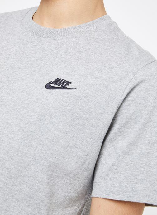 Vêtements Nike M Nike Sportwear Club Tee Gris vue face