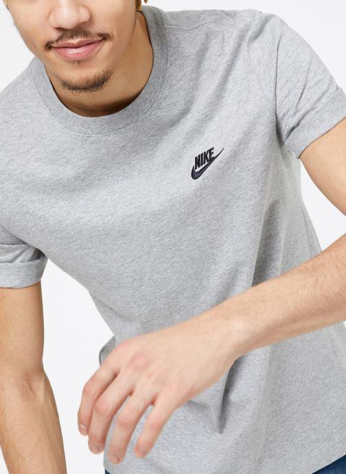 Vêtements Nike M Nike Sportwear Club Tee Gris vue détail/paire