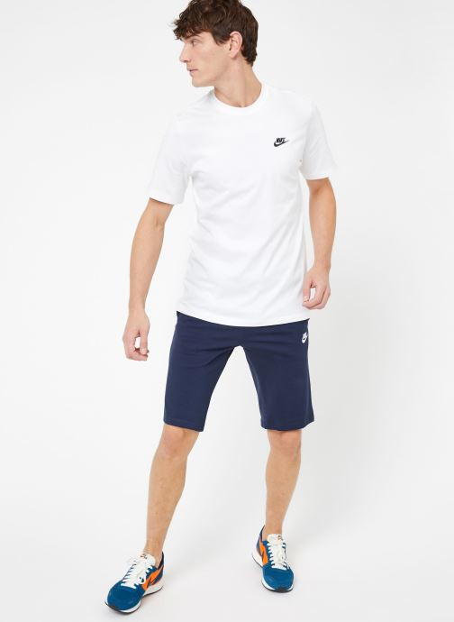 Vêtements Nike M Nike Sportwear Club Tee Blanc vue bas / vue portée sac