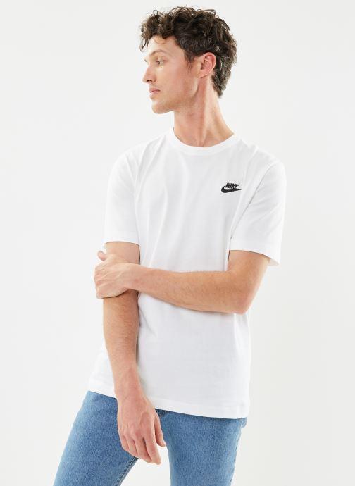 Tøj Nike M Nike Sportwear Club Tee Hvid Se fra højre