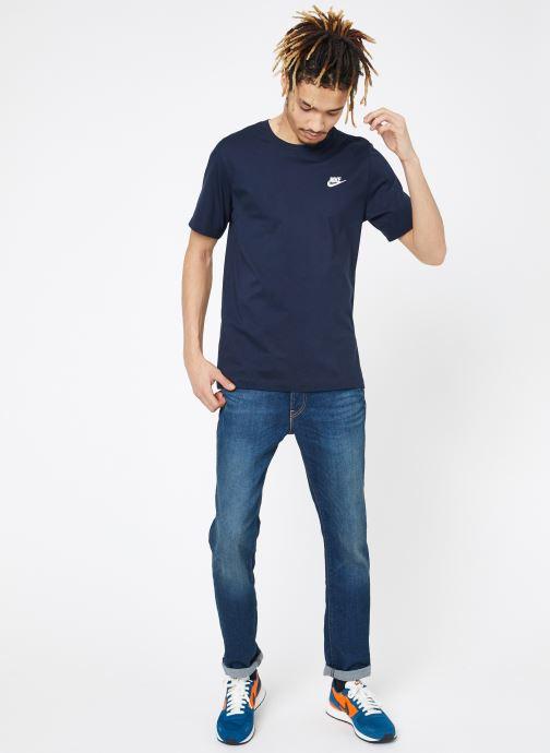 Vêtements Nike M Nike Sportwear Club Tee Bleu vue bas / vue portée sac