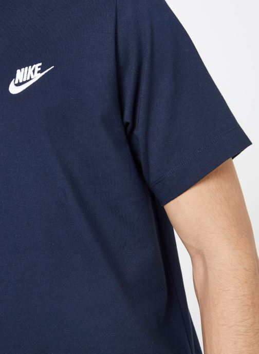 Vêtements Nike M Nike Sportwear Club Tee Bleu vue face