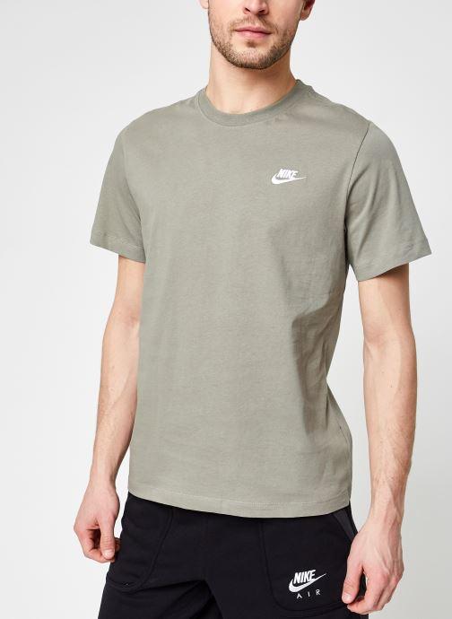 Vêtements Nike M Nike Sportwear Club Tee Vert vue droite