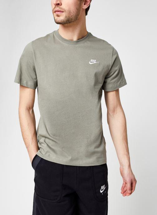 Vêtements Nike M Nike Sportwear Club Tee Vert vue détail/paire