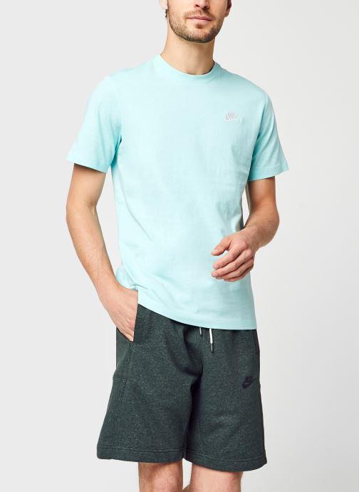 Kleding Nike M Nike Sportwear Club Tee Blauw detail