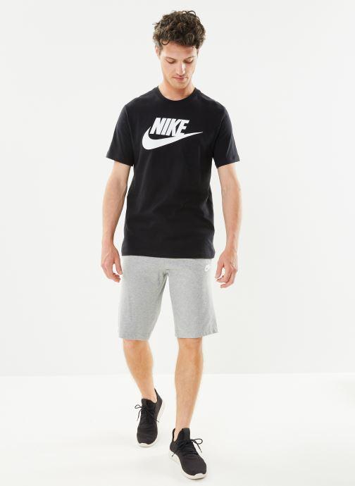 Ropa Nike M Nike Sportwear Tee Icon Futura Negro vista de abajo