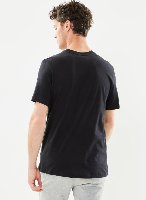 Ropa Nike M Nike Sportwear Tee Icon Futura Negro vista del modelo