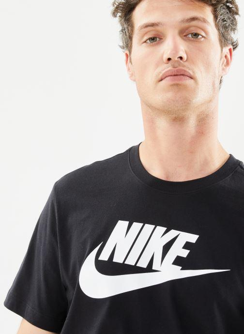 Kleding Nike M Nike Sportwear Tee Icon Futura Zwart voorkant