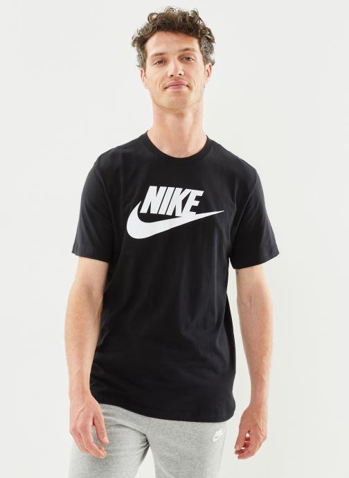 Kleding Nike M Nike Sportwear Tee Icon Futura Zwart detail