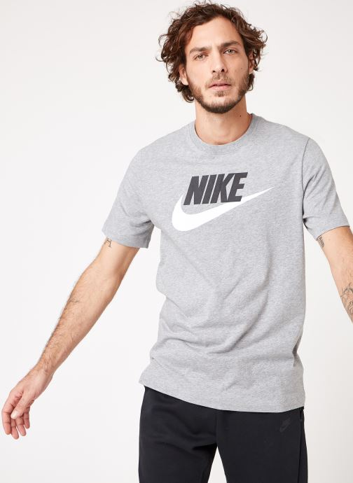 Vêtements Nike M Nike Sportwear Tee Icon Futura Gris vue droite