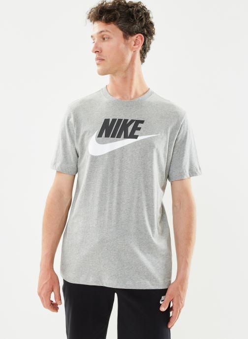 Tøj Nike M Nike Sportwear Tee Icon Futura Grå Se fra højre