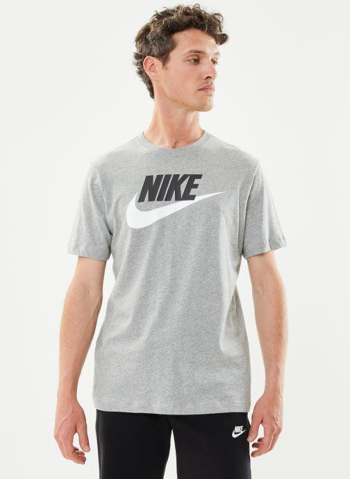 Vêtements Nike M Nike Sportwear Tee Icon Futura Gris vue détail/paire