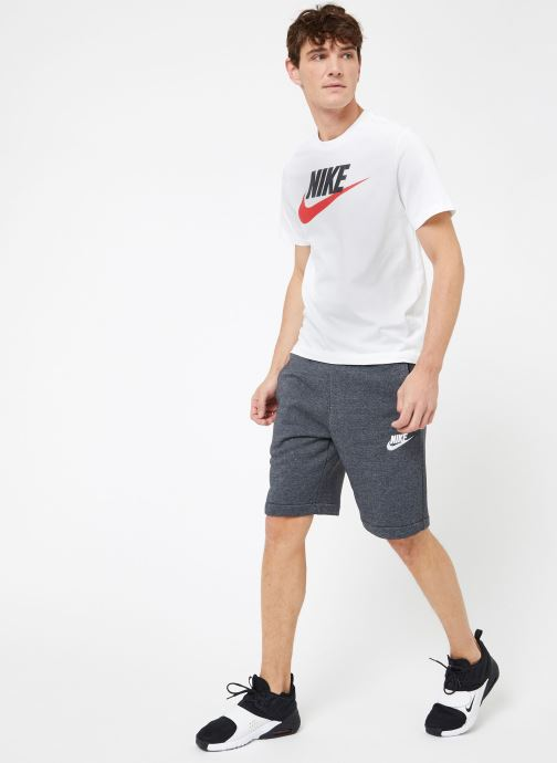 Vêtements Nike M Nike Sportwear Tee Icon Futura Blanc vue bas / vue portée sac