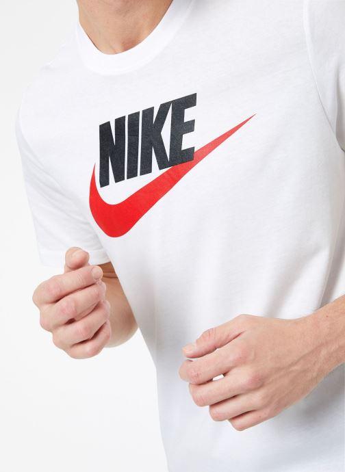Kleding Nike M Nike Sportwear Tee Icon Futura Wit rechts