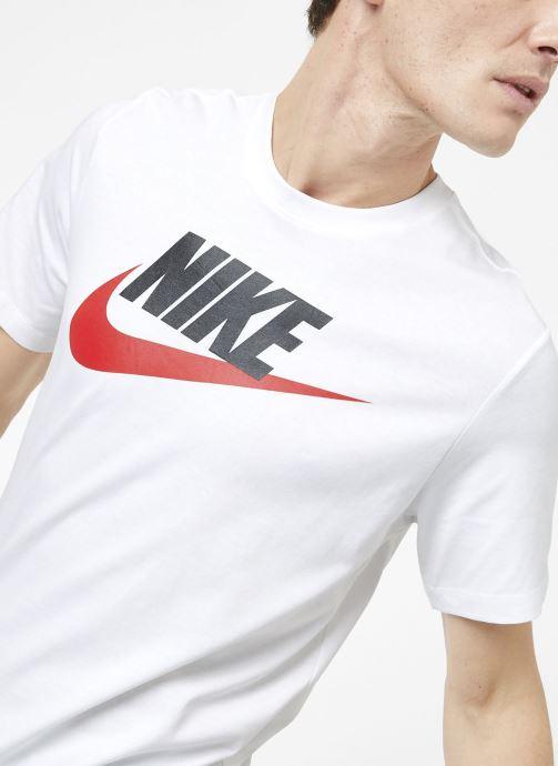 Ropa Nike M Nike Sportwear Tee Icon Futura Blanco vista de detalle / par
