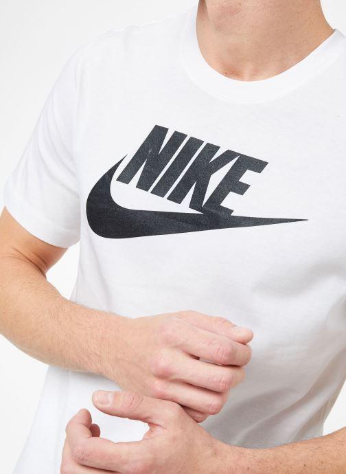 Vêtements Nike M Nike Sportwear Tee Icon Futura Blanc vue droite