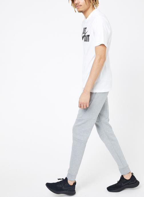 Vêtements Nike M Nike Sportwear Tee Just Do It Swoosh Blanc vue bas / vue portée sac
