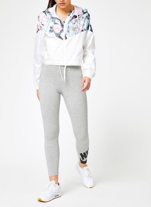 Vêtements Nike W Nike Sportwear Hyp Fm Jacket Crop Wr Aop Blanc vue bas / vue portée sac