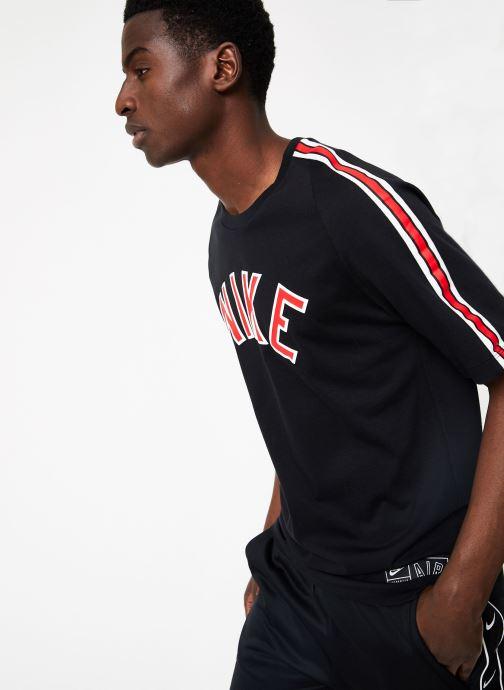 Vêtements Nike M Nike Sportwear Tee Cltr Nike Air 3 Noir vue droite