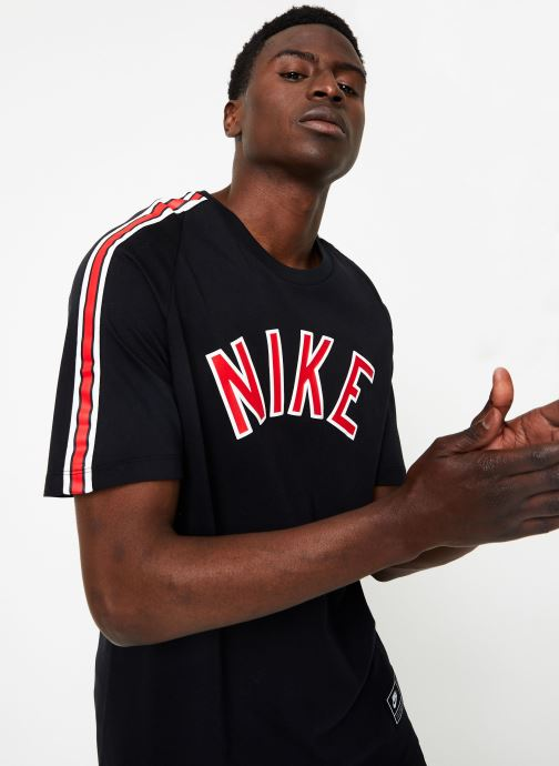 Vêtements Nike M Nike Sportwear Tee Cltr Nike Air 3 Noir vue détail/paire