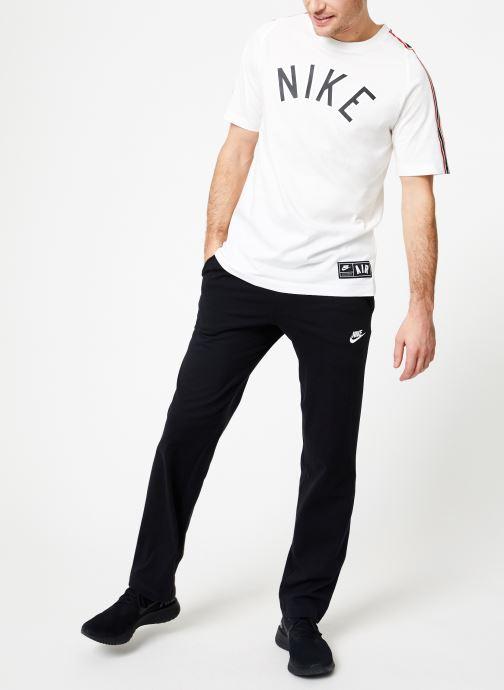 Vêtements Nike M Nike Sportwear Tee Cltr Nike Air 3 Blanc vue bas / vue portée sac