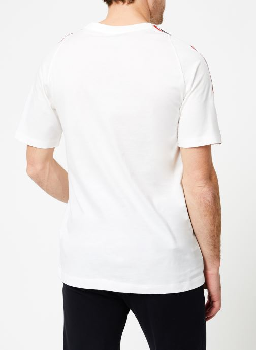 Vêtements Nike M Nike Sportwear Tee Cltr Nike Air 3 Blanc vue portées chaussures