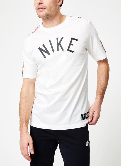 Vêtements Nike M Nike Sportwear Tee Cltr Nike Air 3 Blanc vue droite