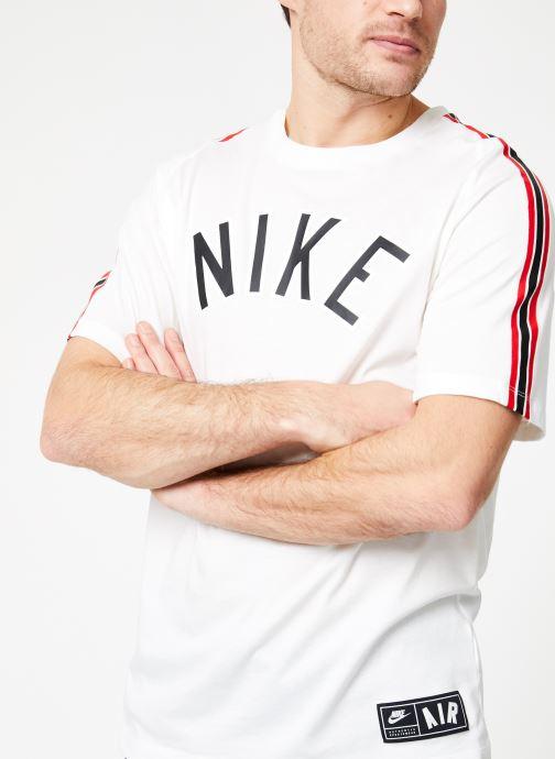 Vêtements Nike M Nike Sportwear Tee Cltr Nike Air 3 Blanc vue détail/paire