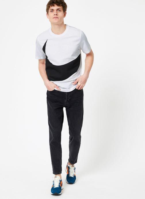 Kleding Nike M Nike Sportwear Tee Hbr Swoosh 1 Wit onder