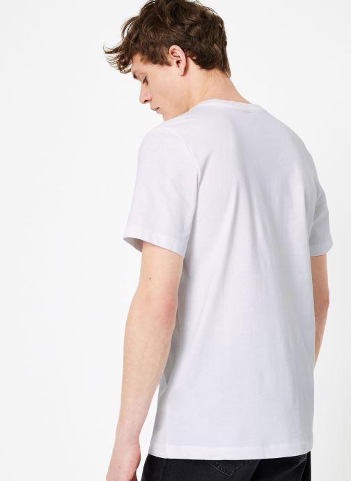 Kleding Nike M Nike Sportwear Tee Hbr Swoosh 1 Wit model