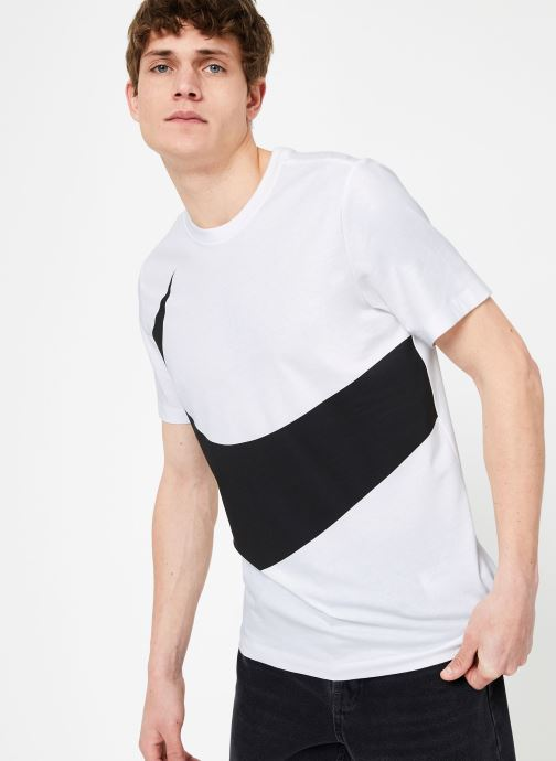 Kleding Nike M Nike Sportwear Tee Hbr Swoosh 1 Wit rechts