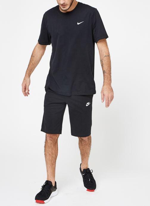 Vêtements Nike M Nike Dry Tee Dfc Crew Solid Noir vue bas / vue portée sac