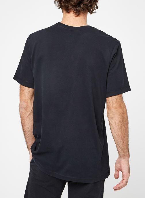 Vêtements Nike M Nike Dry Tee Dfc Crew Solid Noir vue portées chaussures