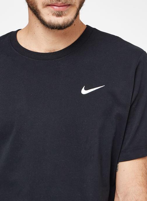 Kleding Nike M Nike Dry Tee Dfc Crew Solid Zwart voorkant